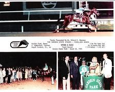 """Spend A Buck, 1985 Horse of the Year, swept the """"Jersey Crown"""", by winning the Cherry Hill Mile by 10 lengths, the Garden State Stakes by 9 lengths, and he won the Jersey Derby, in which he beat Belmont Stakes winner Creme Fraiche by a neck,"""