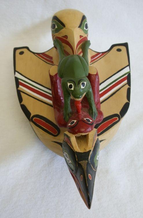 Medicine man rattle by artist the late dartwin jeffrey