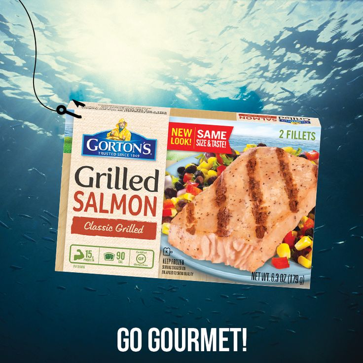 You're off the hook for dinner tonight! Reel in a box of our Grilled Salmon Fillets, and any meal can be easy, healthy, and absolutely delicious. … Trust Gorton's to provide you and your family with delicious seafood. Fish you can make quickly and incorporate into easy recipes. Fish to keep you healthy.