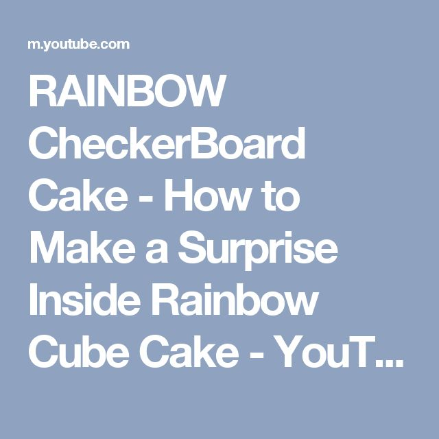 25+ Best Ideas About Checkerboard Cake On Pinterest