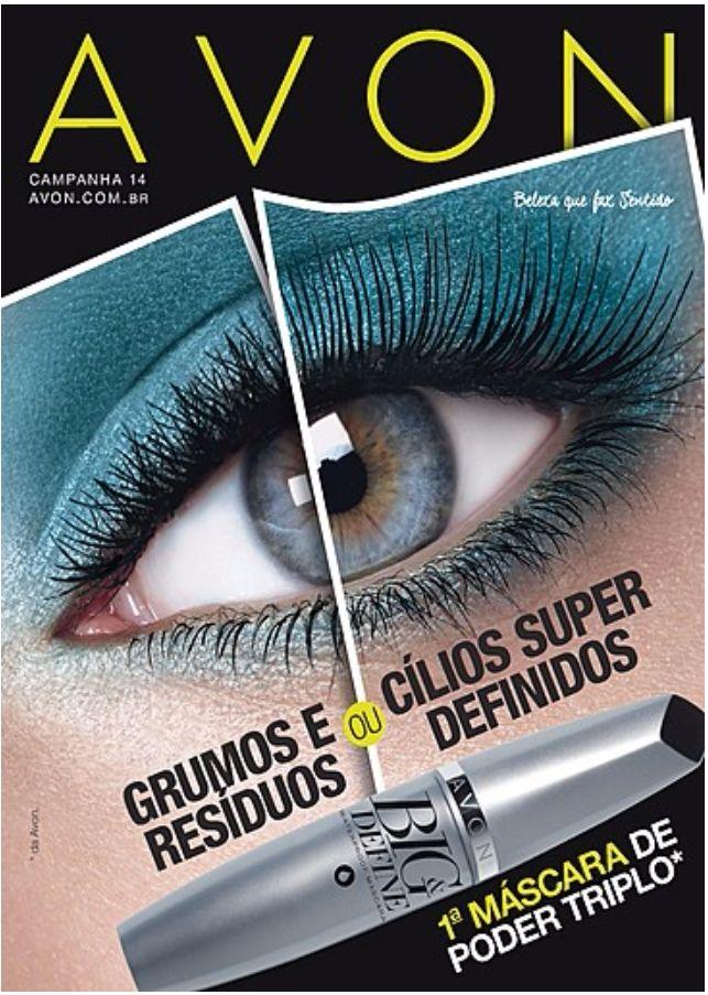 Super Lançamento - Seus cílios perfeitos todos os dias!  Confira mais Revistas Avon e todas as promoções para comprar já, no nosso site: www.grazicosmeticos.com.br