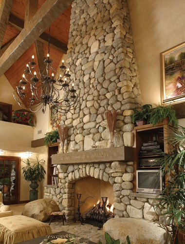 Two Story Fireplace Design, Pictures, Remodel, Decor and Ideas