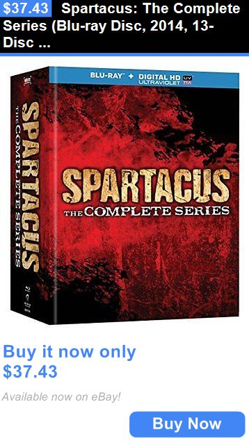cds dvds vhs: Spartacus: The Complete Series (Blu-Ray Disc, 2014, 13-Disc Set) BUY IT NOW ONLY: $37.43
