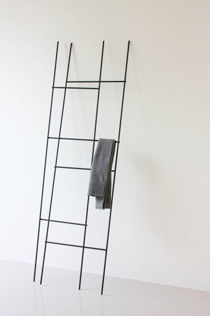 Ladder / coat rack by Yenwen Tseng Design Studio