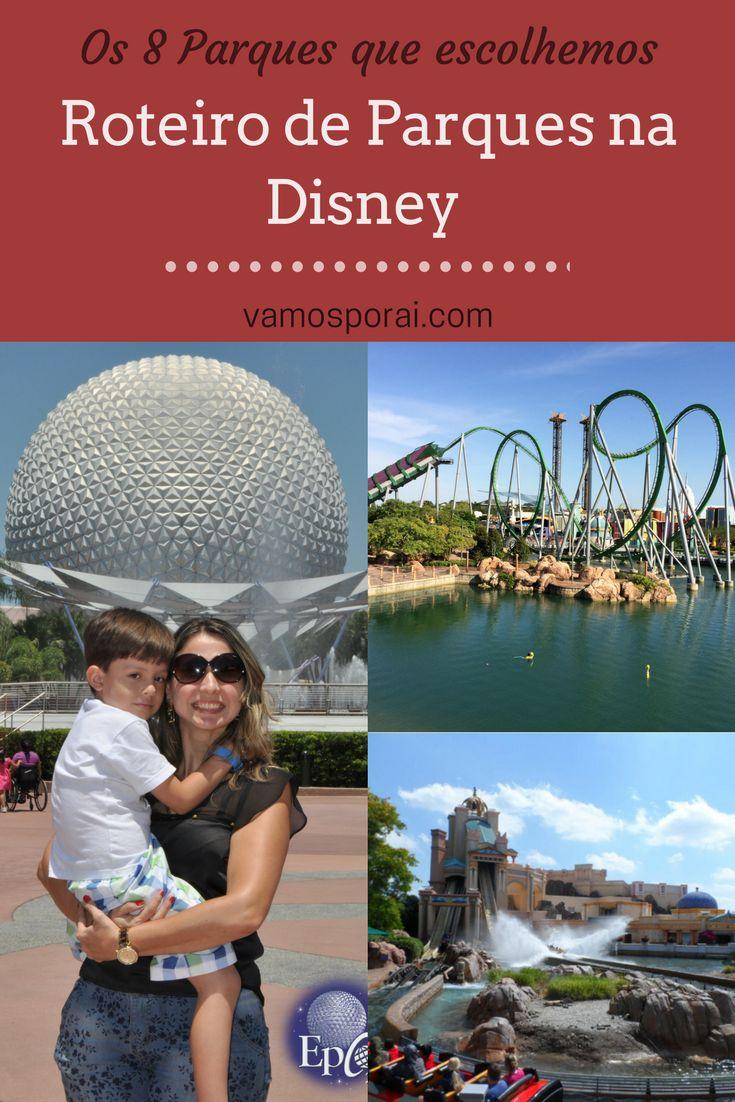 Em uma viagem À Disney na hora de escolher que parques conhecer bate uma indecisão... Pensando nisso, vamos dividir com vocês os parques que escolhemos conhecer na cidade: Magic Kingdom, Epcot, Sea World e muito mais!