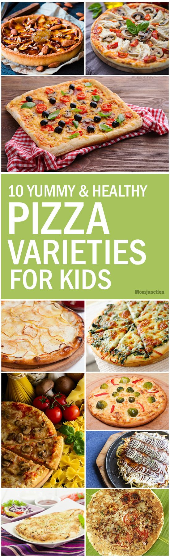 10 Yummy & Healthy Pizza Varieties For Your Kids: So here we present top 10 mouth-watering pizza recipes for your kids