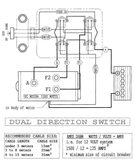 15 grip 9500 lb electric winch wiring diagram  wiring