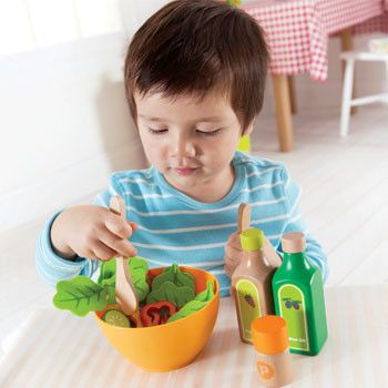 Play food, excellent for imaginative play from little ones.