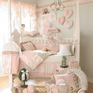 Pink Gray And White Crib Bedding Cute Patchwork Pink