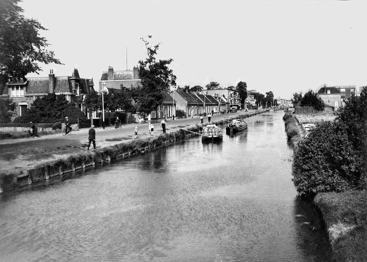 De Oude Haagweg, gezien richting Laan Van Eik En Duin omstreeks eind jaren 30