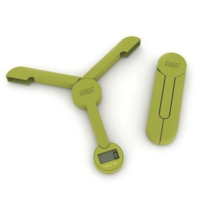 TriScale™ Folding Digital Scale (Green)