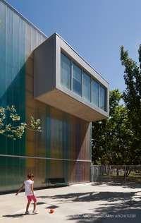 School in Ejea de Los Caballeros on Architizer