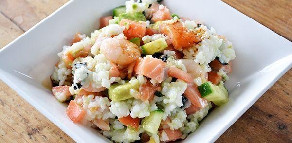 Een erg lekker recept als je sushi wil eten, maar geen zin hebt om lang in de keuken te staan. Zeer geschikt als hoofdgerecht, maar ook als lunchgerecht of als...