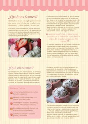 Diseño de sistema para una pasteleria