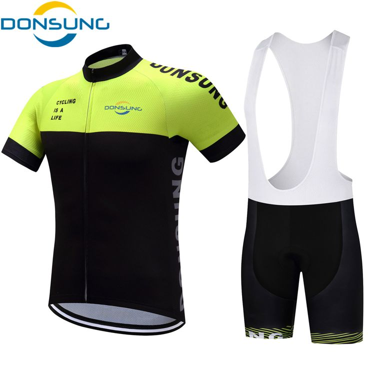 DONSUNG Men Cycling Sets MTB Short Sleeves Cycling Jersey 2017 Pro Team Quick Drying Sets Bike Bicycle Ciclismo Ropa De Ciclismo #Affiliate