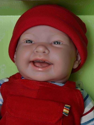 Realistické miminko - chlapeček Nico od firmy Berenguer
