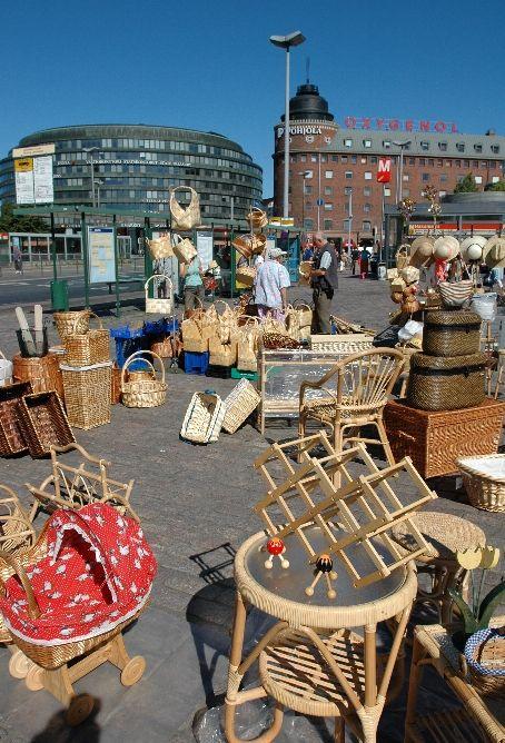 Hakaniemi market square, Helsinki - カッリオ地区