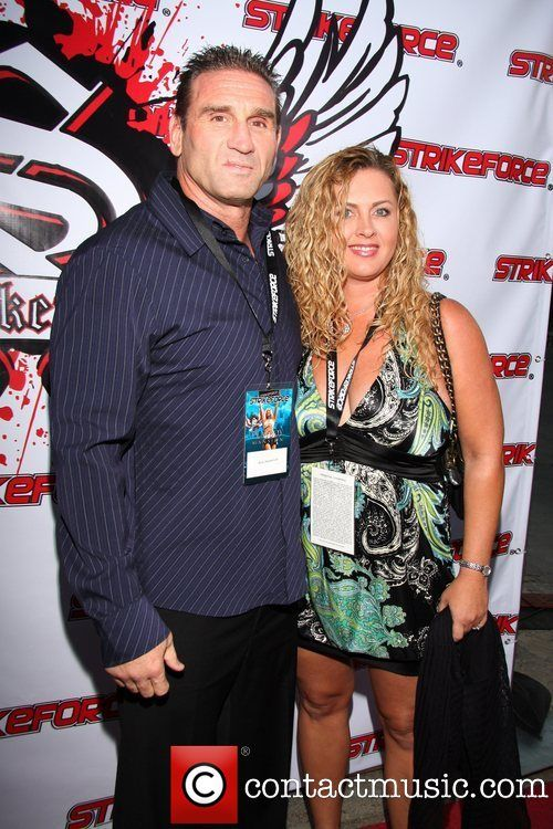 Ken Shamrock & his wife Tonya at an event in 2008