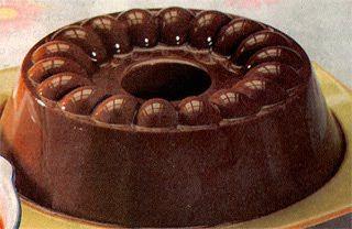 Cara Membuat Puding Susu Cokelat Saus vanila