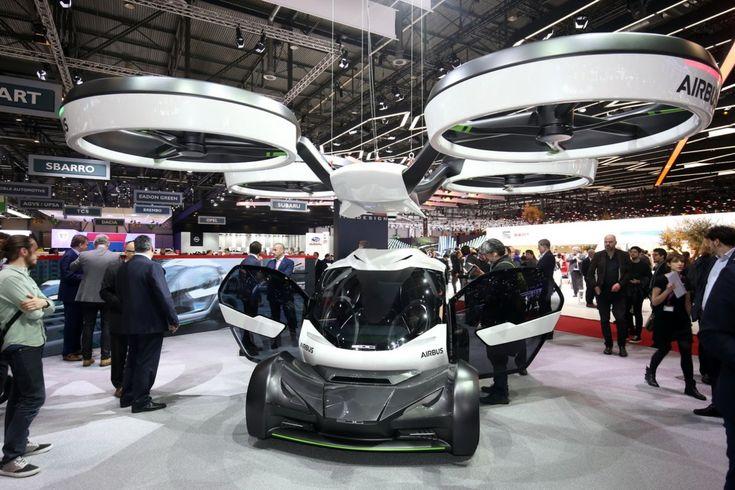 В Женеве представлен беспилотный летающий автомобиль Airbus