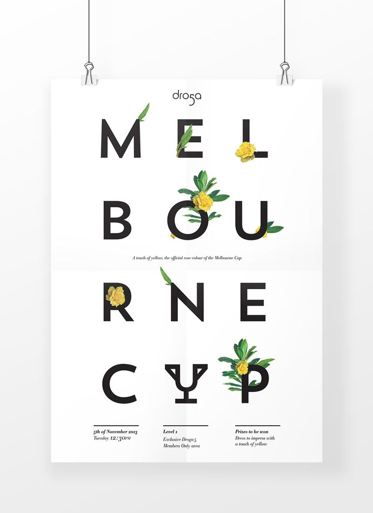 Droga5 Melbourne Cup - Art Direction / Design - Jae Jun Kim - ✯ www.pinterest.com/WhoLoves/Melbourne-Cup ✯ You gotta Pin It to Win It #MelbourneCup #TheRaceThatStopsANation