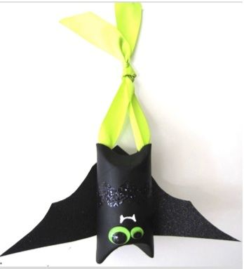 Bat Bon Bons - Halloween Craft