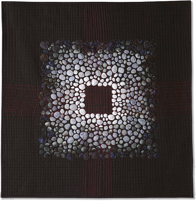 Porous squares by charlotte bird quilt visions biennial 2004