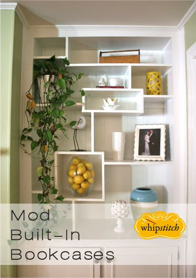 mod built in bookcases & 11 best Whipstitch: Home Decor Sewing images on Pinterest | Sewing ...