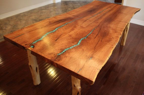 Live Edge Mesquite Dining Table With By AaronSmithWoodworker Furniture Li
