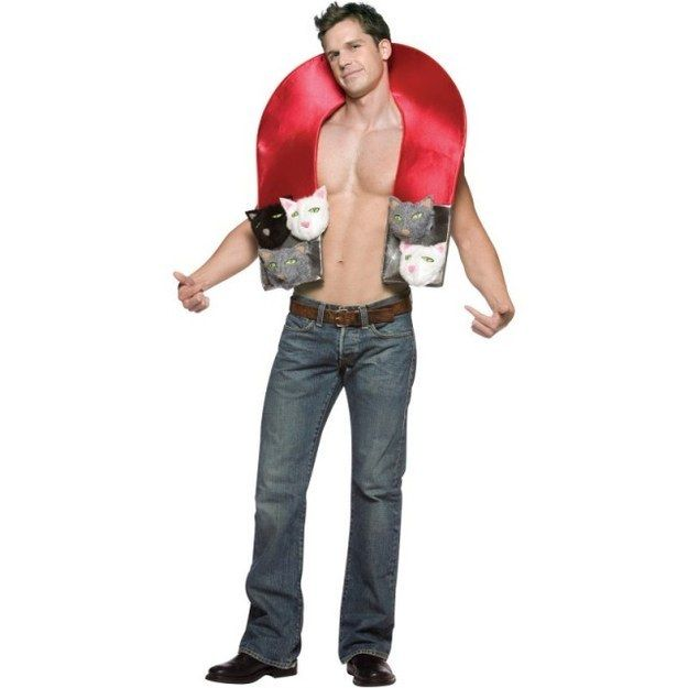 Pussy (Cat) Magnet | 16 Halloween Costumes No Man Should Ever Wear