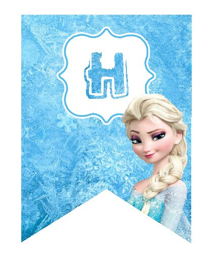 Frozen Birthday Banner Printable Frozen Banner Party By: 75 Best Images About Reine Des Neiges / Frozen On