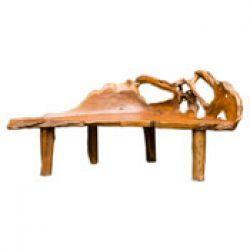 Jali Teak Root Large Bench http://solidwoodfurniture.co/product-details-soft-furnitures-3775-jali-teak-root-large-bench.html