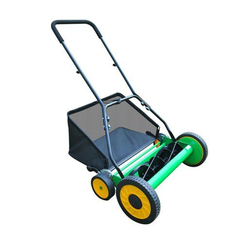 "20"" Walk Behind Manual Push Lawn Mower Reel Mower - http://bestlawnmower.bgmao.com/20-walk-behind-manual-push-lawn-mower-reel-mower-3"
