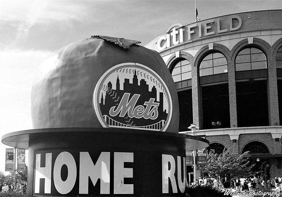 New York Mets Citi Field Photo Baseball Sports Photography Etsy Fine Art Photo Sports Photography Photo Art