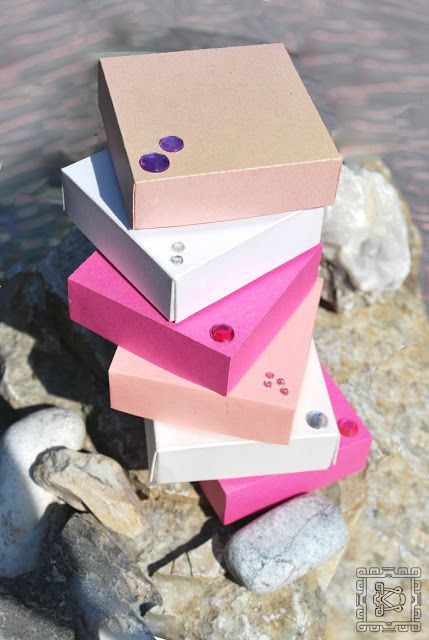 Boxes for Pins made by DreamCode