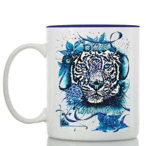 Not too early to start thinking about your Valentine's gift! blue tiger mug #storymood #valentine's #mug