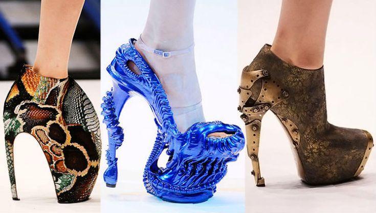 """""""Alexander McQueen e seus sapatos exóticos"""" http://decoracaopracasa.com/top-10-marcas-de-sapatos-de-luxo-do-mundo/#.Uv4wwPl_uAZ"""