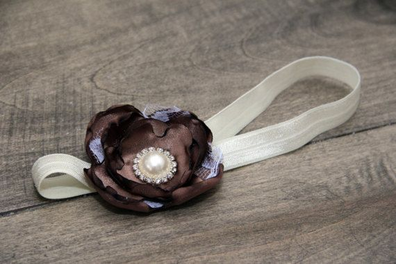 Flower Headband by BabyFripperies on Etsy