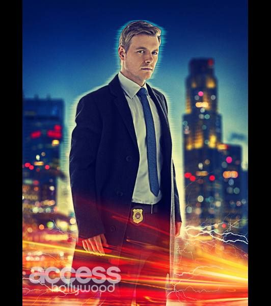 Rick Cosnett as Detective Eddie Thawne in The CW's 'The Flash,' premiering October 7 at 8/7c
