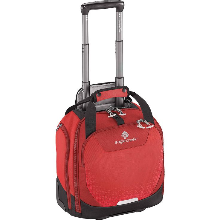The Expanse™ Wheeled Tote Carry-On is a great substitute for a backpack as your small carry-on. It features an elasticized back slip panel for securely stacking on wheeled luggage, padded tablet sleeve, front pocket with organization tools and pockets, and a padded tote handle.