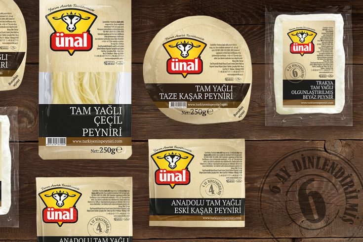 #packaging #design for #ünal #cheese by Orhan Irmak Tasarım | Creative Packaging & Design