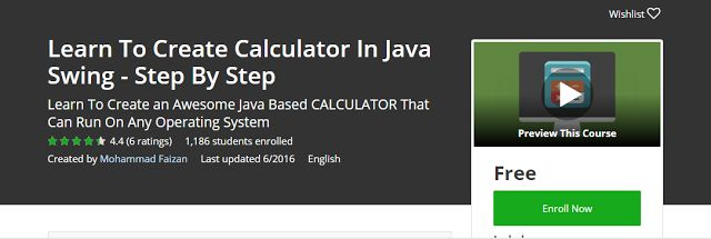 Learn To Create Calculator In Java Swing – Step By Step Free              Requirements    Before Starting This Course OR Before Taking Thi...