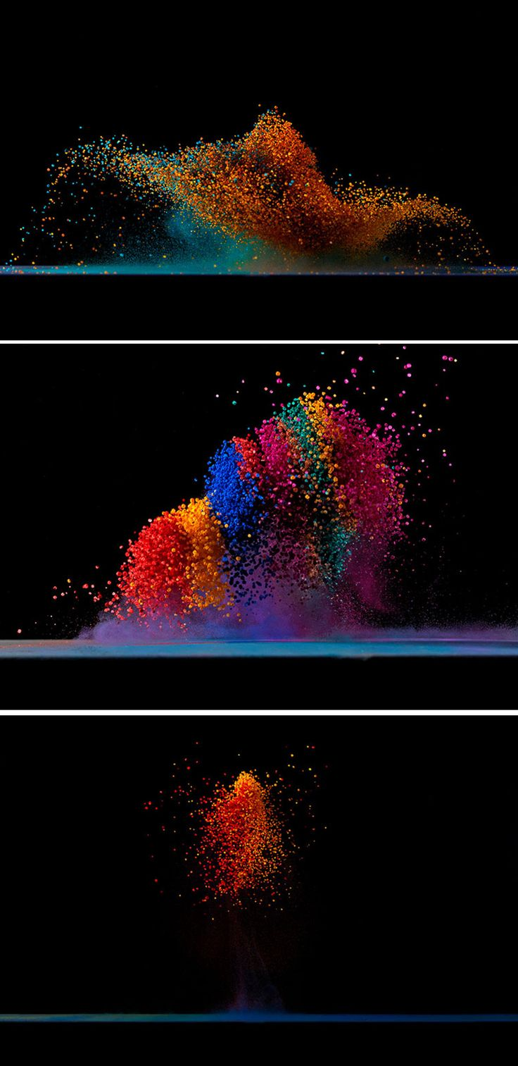 Dancing Colors  making sound waves visible  by Fabian Oefner