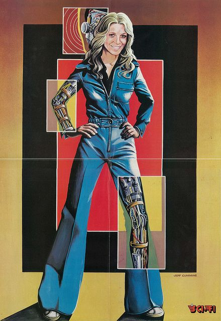 Jaime Summers AKA The Bionic Woman. This is who I'm named after because Dad thought she was a hottie :)