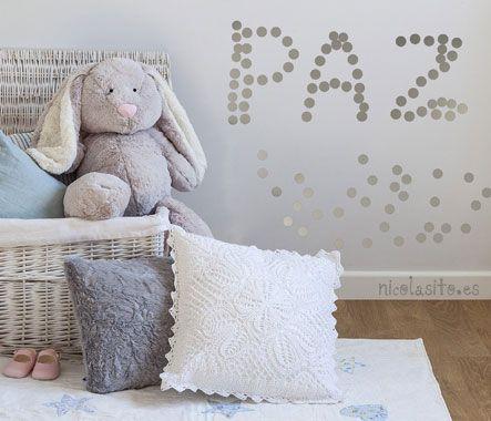 vinilos infantiles para decorar la habitación