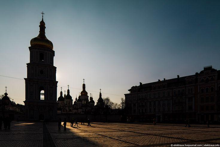 Про Київ увечері