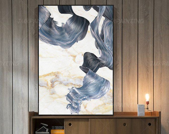 Gold Leaf And Silver Leaf Set Of 2 Wall Art Abstract Butterfly Etsy Abstract Painting Abstract Painting Print Painting Prints