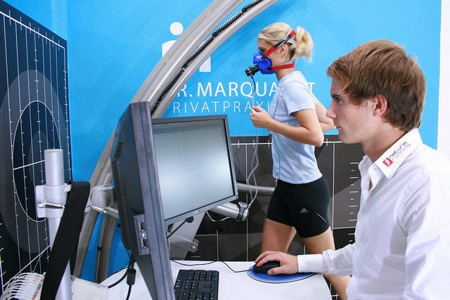 GAIT Analysis together with gas exchange measurement with Quark CPET by cosmednews, via Flickr