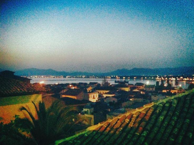 romantic view from Amfitrti Palazzo Hotel Nafplio!!!