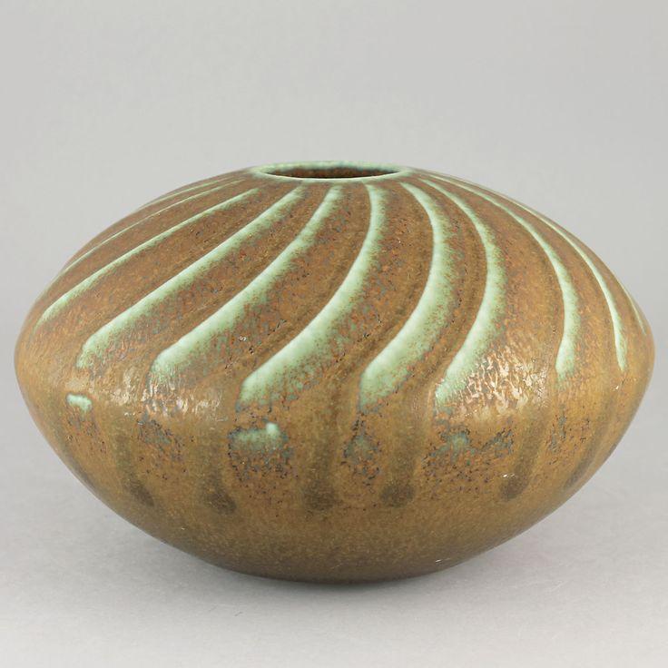 Wilhelm Kage (1950s) Amazing Discus Vase
